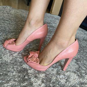 Pink Valentino Heels